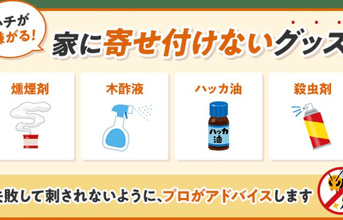 嫌い スズメバチ な 匂い が 蜂の嫌いな匂いは何?予防・駆除対策には木酢液やハッカ油が効果的